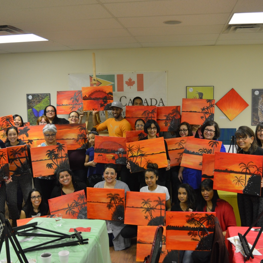 March 29, 2017 Private Paint Night