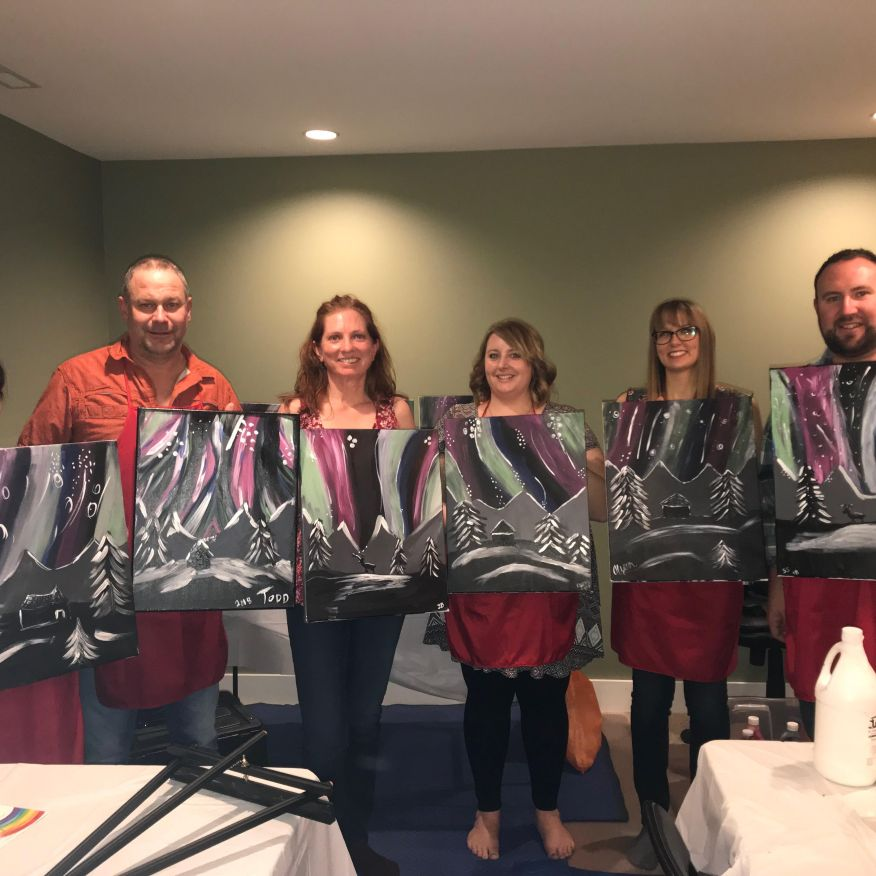 Jan 20th, 2018 Private Paint Night
