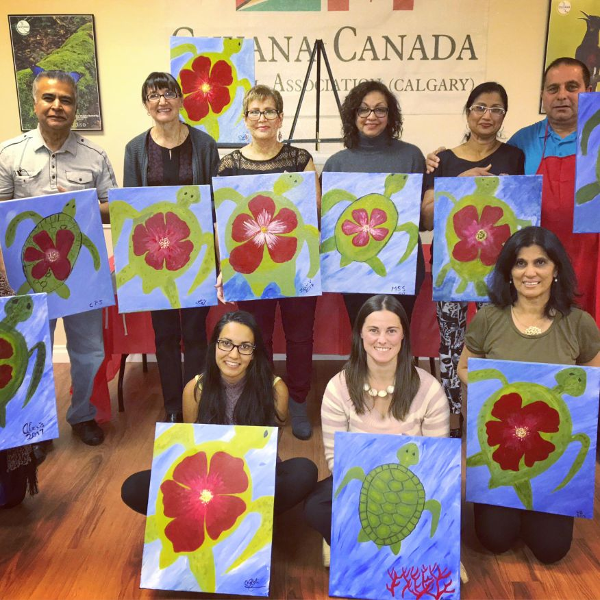 Oct 14th, 2017 Private Paint Night
